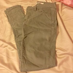 Levi 710 super skinny jeans / olive